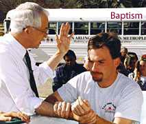 Bob Burgin: An outdoor Mission Arlington baptism