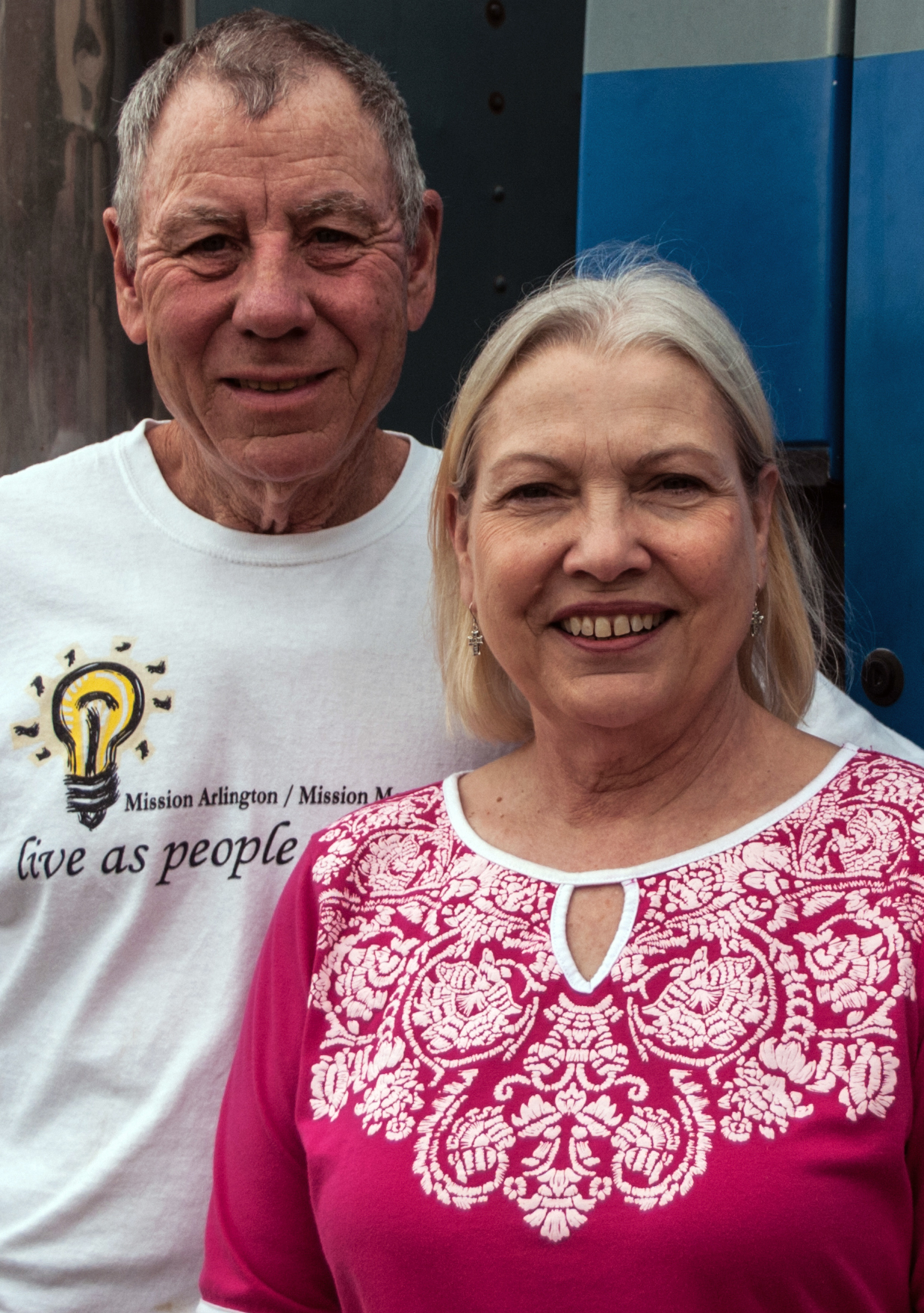 Tommy and Noeleen have been married for 15 years.