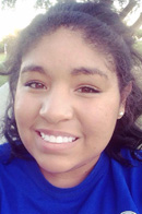 Laura Cadena, a student from Angelo State University, served at Mission Arlington this Christmas.