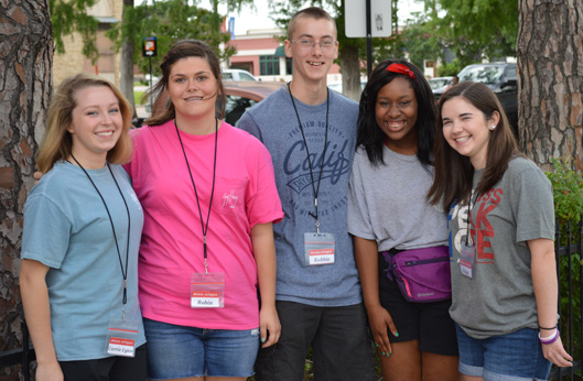 Carrie Lynn, Robin, Robbie, Mekayla, and Paige were a few of our early Summer arrivals in 2015. Twenty five young people served with us this summer.